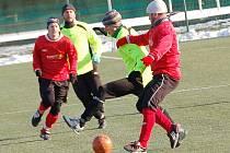 Zimní turnaj Baníku Sokolov: Spartak Chodov - OSS Lomnice