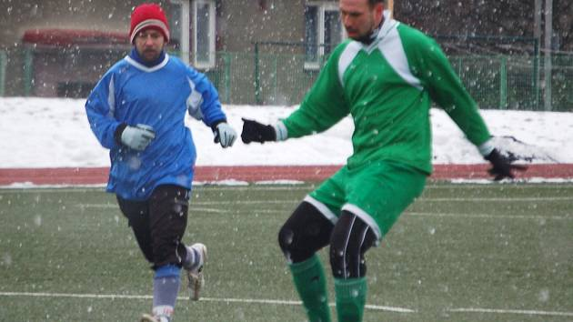Zimní turnaj: Spartak Horní Slavkov - Lokomotiva Karlovy Vary