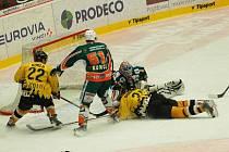 Utkání II. hokejové ligy HC Baník Sokolov - HC Baník Most
