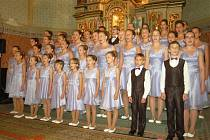 Pěvecký sbor Andílci.