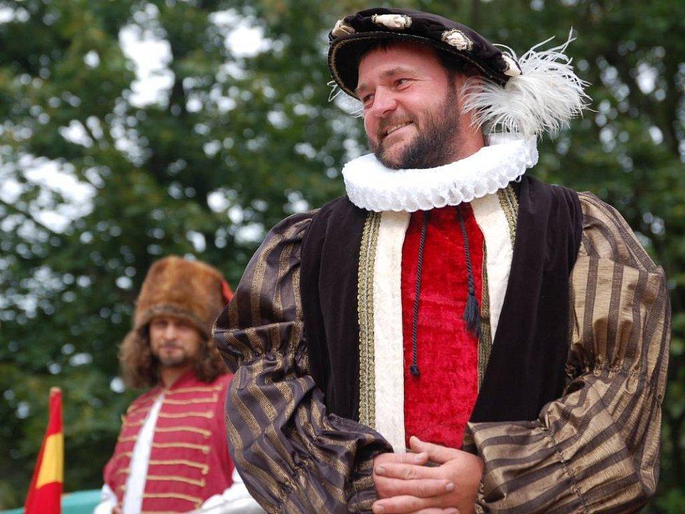 Císař Rudolf II. osobně.