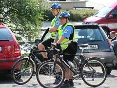 Městská policie v Chodově.