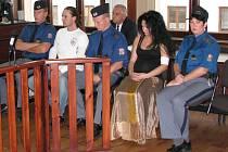 MANŽELÉ ČEBIŠOVI stanuli před Okresním soudem v Sokolově. Podle obžaloby měli poslat na svého souseda partu, která ho měla za úkol zranit a vystrašit.