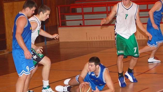 Druhá liga v basketbale mužů BK Sokolov - Baník Most