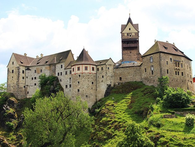 Hrad Loket je nejnavštěvovanější památkou v Karlovarském kraji.