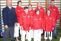 Oddíl karate Shodokan Sokolov v Chodově