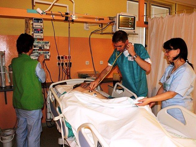 Specializované pracoviště v sokolovské nemocnici.