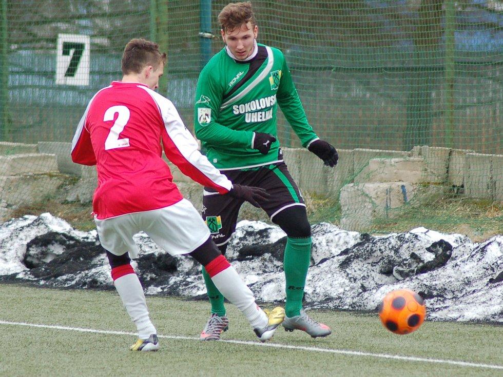 Fotbalová příprava: FK Baník Sokolov - TJ Kunice