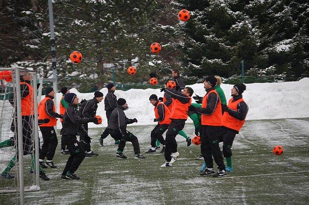 Zimní příprava fotbalistů FK Baník Sokolov