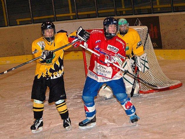 Liga mladšího dorostu: HC Baník Sokolov - HC Berounští Medvědi