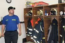Slavnostní otevření nově opravené hasičské zbrojnice.
