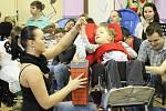 Mateřídouška pravidelně pořádá besídky pro rodiče a hosty. Ta předvánoční se jmenovala Zimní notování.