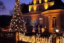 Vánoční dům v Doubí v Karlových Varech
