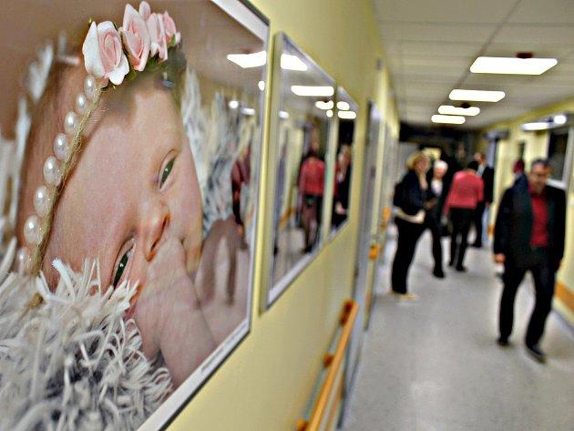 Nové prostory novorozeneckého oddělení, porodnice a šestinedělí.