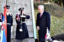 SRBSKÝ PREZIDENT Tomislav Nikolić uctil památku těch, jejichž ostatky jsou uloženy v jindřichovickém mauzoleu.