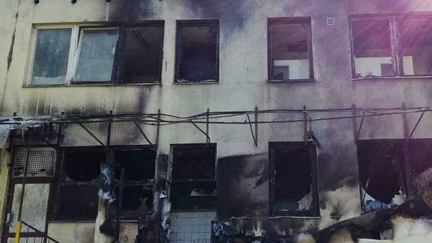 Nová knihovna má vzniknout místo vyhořelé výrobny knedlíků.