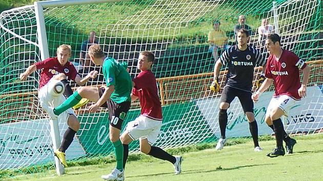 FK Baník Sokolov - AC Sparta Praha B 2:2