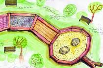 DVACET metrů dlouhý had bude součástí revitalizovaného lesoparku v Horním Slavkově. Bude sloužit jako poznávací místo pro děti i dospělé, kde si vyzkouší různé přírodní materiály.