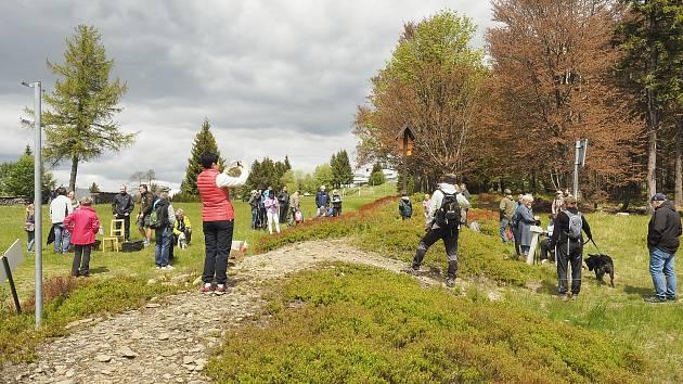 Setkání na hranici Bublava - Klingenthal.