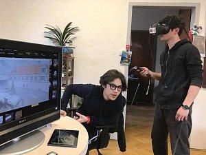 Virtuální realita na statku v Královském Poříčí.