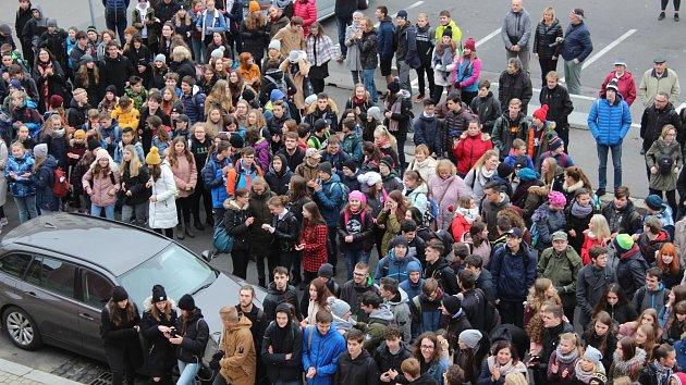 Studentský pochod připomněl listopad 1989