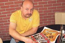Vladimír Suchan, organizátor kulturního léta v loketském amfiteátru.