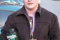 Závodník Březové Karel Kopal.