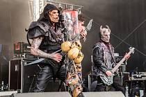 Headlineři, kapela Debauchery´s Balgeroth.