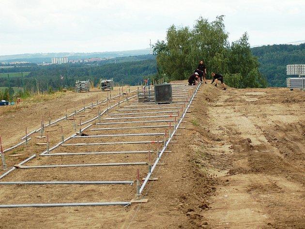 Loketská trať se připravuje na víkendový závod mistrovství světa