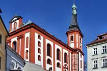 Kostel sv. Václava v Lokti.