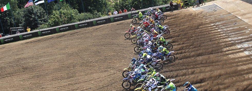V Lokti se jede mistrovství světa v motokrosu.