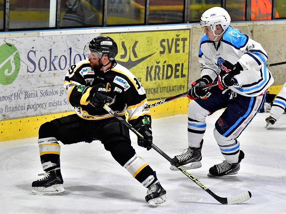 3. utkání série play off druhé hokejové ligy, HC Baník Sokolov - HC Stadion Vrchlabí