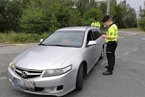 Policisté zkontrolovali téměř 350 vozidel.