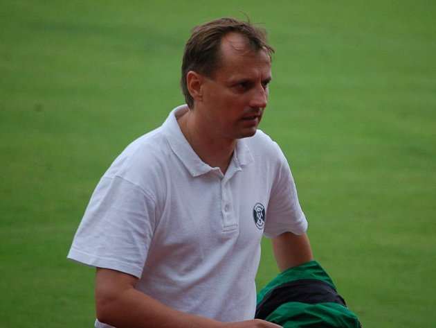 Trenér Martin Pulpit včera po posledním utkání.