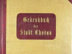 Původní německá kronika města Chodova, dnes uložená v archivu v Jindřichovicích.