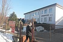 Objekt Zdraposo v Sokolově, v jehož části budou i městské byty