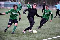 Dvě prohry si připsali během zimní přípravy na své konto dorostenci ligového výběru Baníku U19.