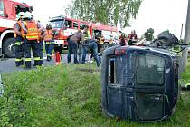 Tragická nehoda u Vintířova.