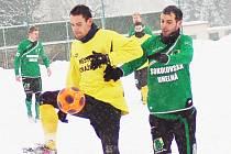 Přípravný fotbal: FK Baník Sokolov - TJ Jiskra Domažlice
