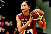 Basketbalistka Kateřina Zohnová.