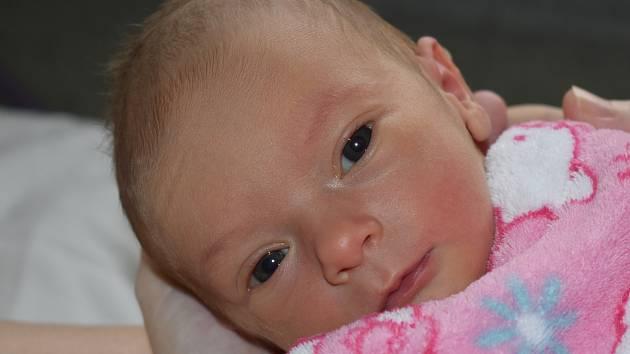 Ella Zakrzewská z Chebu se narodila 28.1.2020