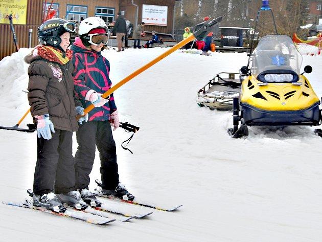 Víkendové lyžování v Bublavě