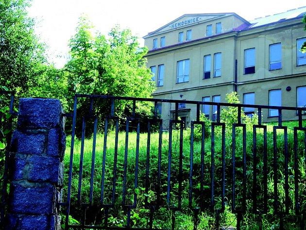 Bývalá městská nemocnice v Kraslicích.