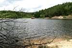 Vodní nádrž Tatrovice.