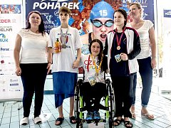 Už 15. ročník Pohárku se uskutečnil v plaveckém bazénu Sokolov.