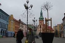 Staré náměstí v Sokolově