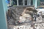 Rekonstrukce v sokolovském bazénu.