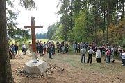 Rotavský křížek se dočkal záchrany.