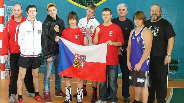 Společná výprava plzeňských a sokolovských boxerů v Polsku