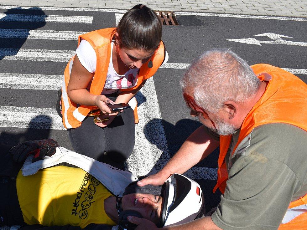 Oči záchranářů budou u nehody dřív než sanitka. Aplikace Záchranka totiž umožní videopřenosy mezi volajícím a zdravotnickou záchrannou službou.